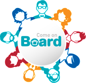 come on board logo