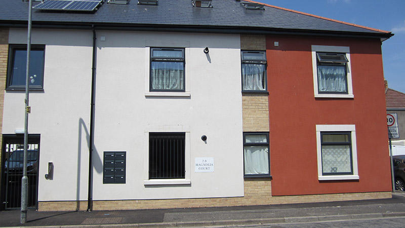 Magnolia Court Cadwyn Housing Association