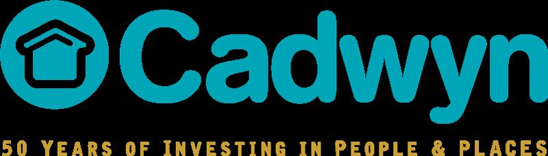 cadwyn logo with 50 strapline