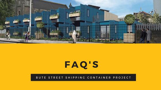 Bute Street FAQs website