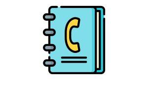 tenant handbook icons contact