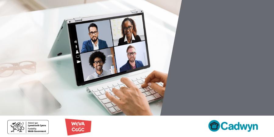 WCVA website header